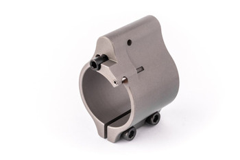 """Superlative Arms .875"""" Adjustable Gas Block Stainless - Clamp On"""