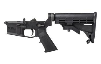 Aero Precision M4E1 Complete Lower - A2 grip and M4 Stock