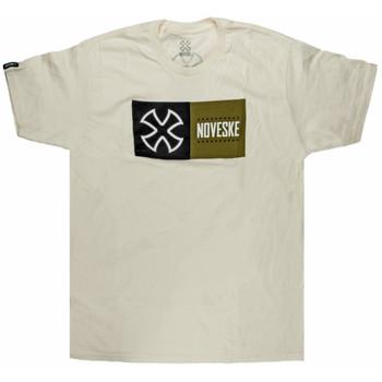 Noveske Block T-shirt - Natural