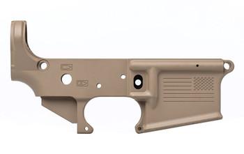 Aero Precision AR15 Stripped Lower Special Edition: Freedom FDE
