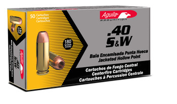 Aguila 40SW 180gr Full Metal Jacket - 500rds