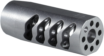 Seekins Precision AR ATC MUZZLE BRAKE 5/8X24 THREAD - Stainless Steel