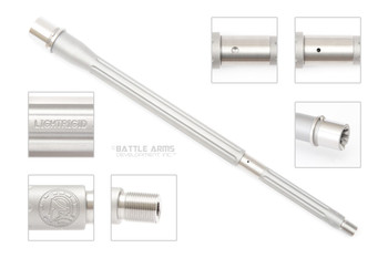 "Battle Arms Development  16"" Ultramatch LIGHTRIGID™ 416R SS .223 Wylde Fluted Lightweight Barrel"