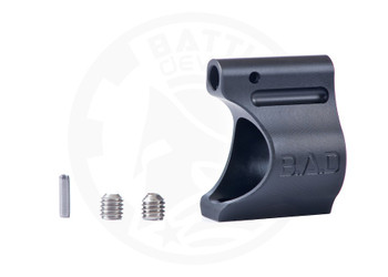 "Battle Arms Development Lightweight Low Profile Titanium Gas Block .625"" Black Ionbond PVD"