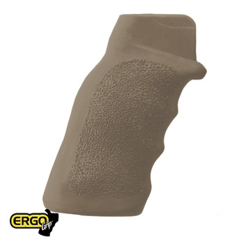 Ergo Grips Flat Top Tactical Deluxe Grip Dark Earth