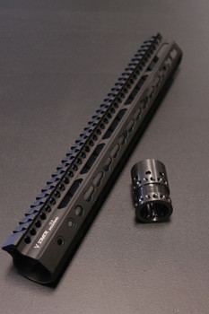 V Seven Weapons Enlightened Keymod Handguard 11""