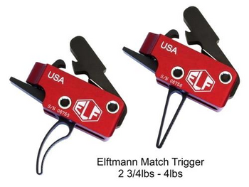 ELF Match Trigger AR15 2.75-4lbs Curved