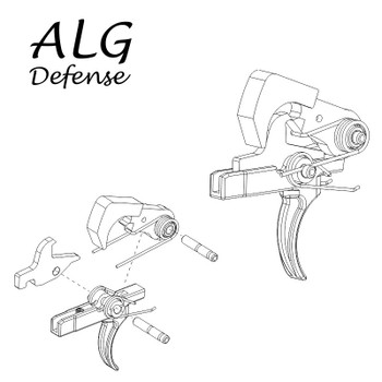 ALG Defense QMS (Quality Mil-Spec) Trigger