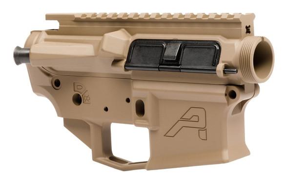 Aero Precision M4E1 Threaded Receiver Set - FDE Cerakote (APCS100178S)