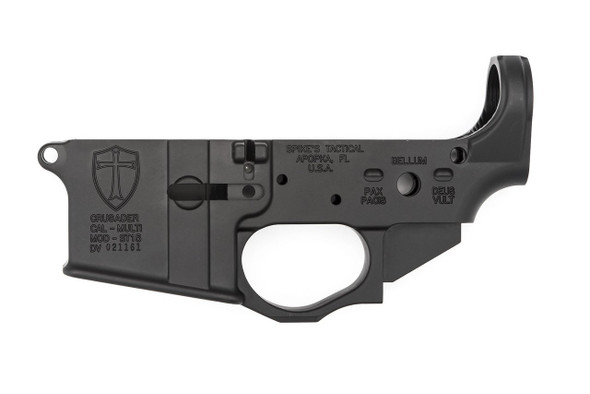 Spikes Tactical AR15 Lower Receiver - Crusader