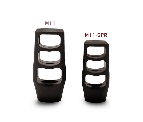 Precision Armament M11-SPR (Special Purpose Rifle) Muzzle Brake 1/2-28