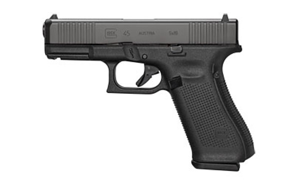 Glock 45 G45 9mm 17rd 3 Mags Front Serrations