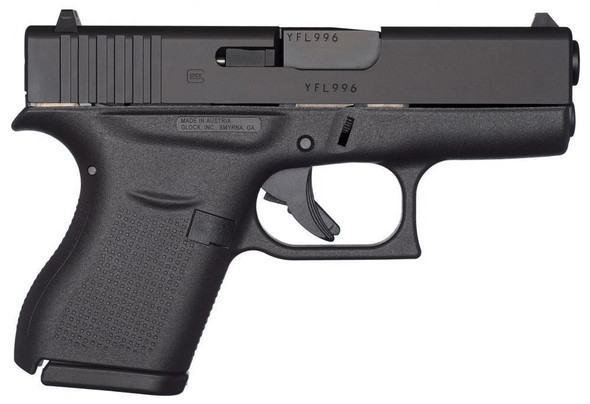 Glock 43 9mm Luger 6rds+1 Black