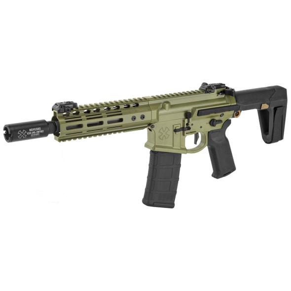 """Noveske Gen 4 Pistol 8"""" 5.56 Q Brace - Bazooka Green"""