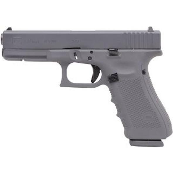 Glock 17 Gen4 9mm Gray Cerakote 17+1rds 3 mags