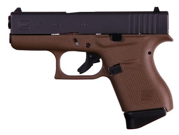 Glock 43 Dark Earth Frame 9mm - 6+1rd