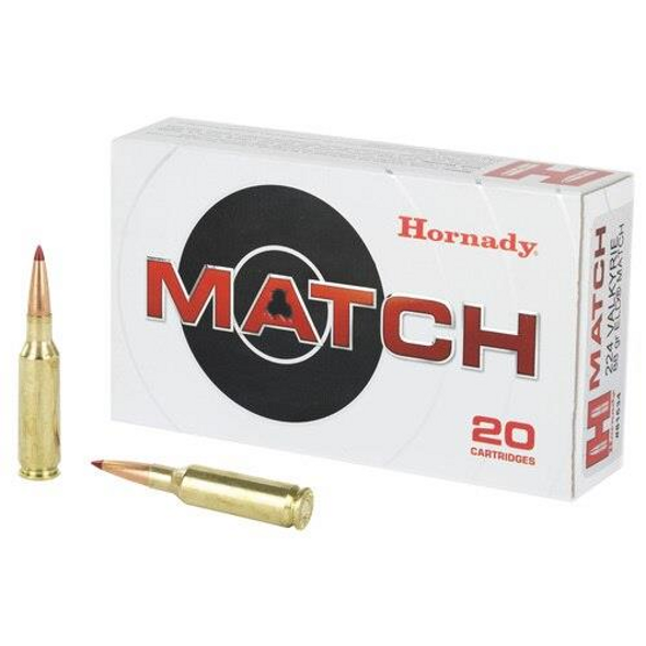 Hornady Match .224 Valkyrie ELD 88 Grain 20 Rounds