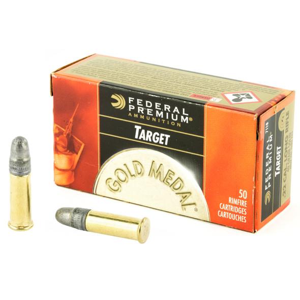 Federal Target 22LR 40gr Solid 50ct
