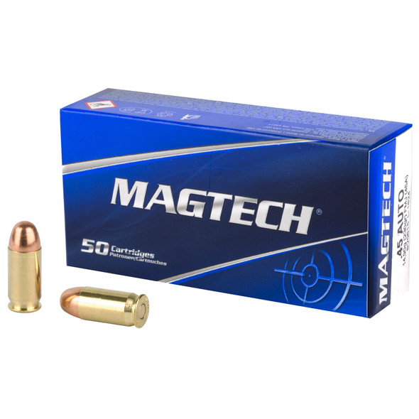 Magtech, .45 ACP, FMJ, 230 Grain, 50 Rounds