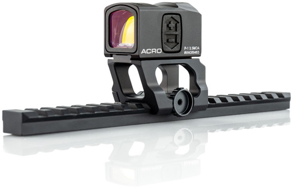 State of the art Aimpoint ACRO mounts. Designed for shooters who want the lightest, strongest, and most compact quick-detach optic mount possible.