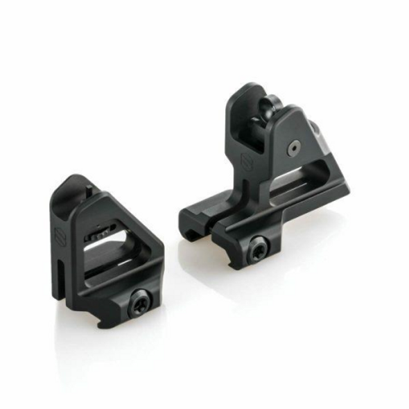 Meticulously machined to be the lightest fixed iron sights in existence, without compromising an ounce of strength.