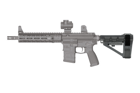 SB Tactical Stabilizing Brace -SBA4 (SBA4) - On Weapon