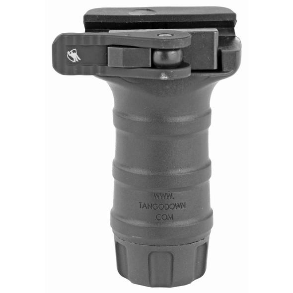 TangoDown Vertical Grip Picatinny Quick Detach w/ Auto Lock - BLK