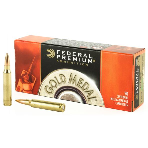 Federal Gold Medal Match, 223 Remington, 77gr BTHP