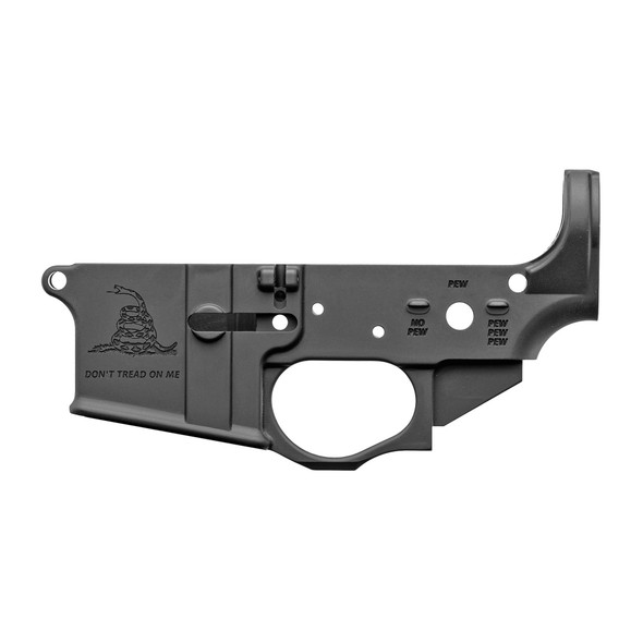 Spikes Tactical AR15 Stripped Lower - Gadsden