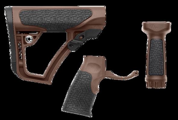 Daniel Defense Stock/Grip/Vertical Grip Combo - Mil Spec +
