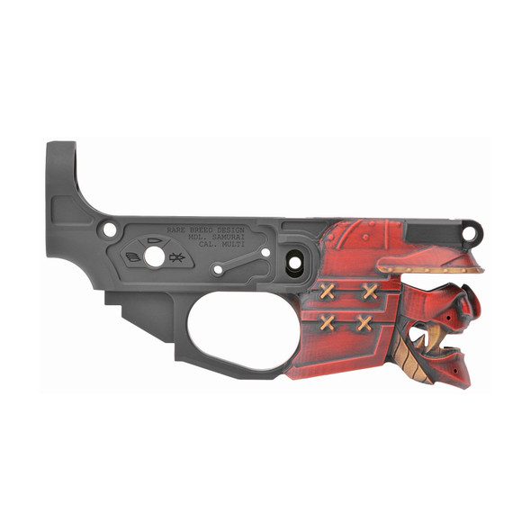 Spikes Tactical Rare Breed Samurai Lower - Painted
