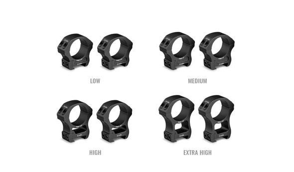 Vortex Pro Series 30mm Rings - Low