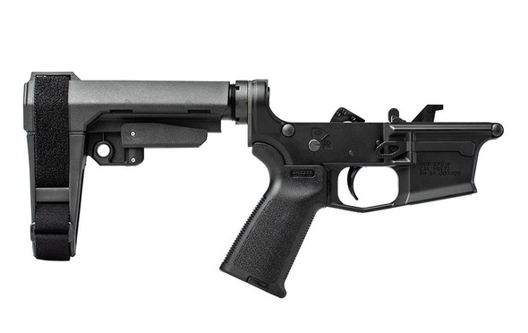 Aero Precision EPC-9 Lower Complete - With MOE Grip and SBA3