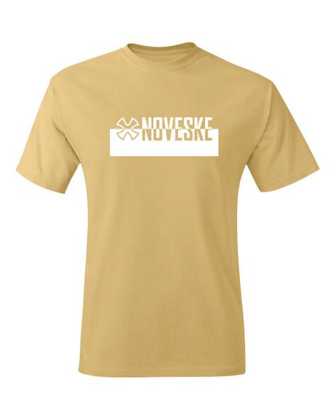Noveske Op Art T-shirt - Mustard