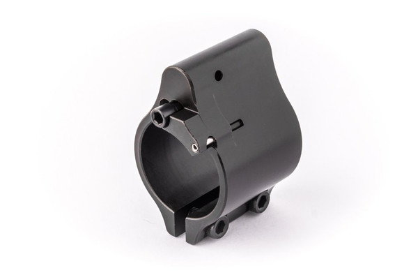 """Superlative Arms .875"""" Adjustable Gas Block Melonite - Clamp On"""