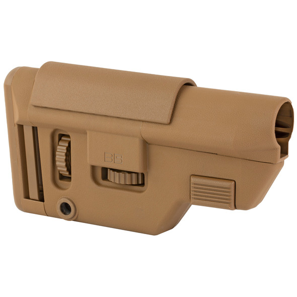 B5 Systems Collapsible Precision Stock Medium - Coyote Brown