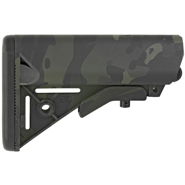 B5 Systems Sopmod Stock - Multicam Black