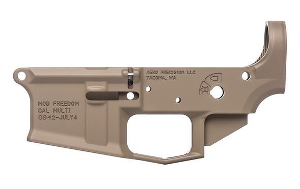 Aero Precision M4E1 Stripped Lower Receiver - Special Edition: Freedom FDE