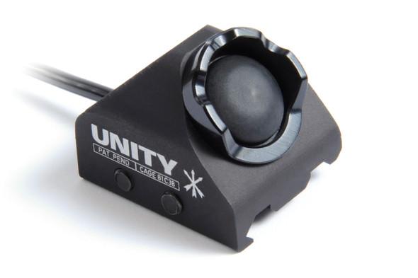 """Unity Tactical Hot Button - Rail Mount - Laser 7"""" - BK"""