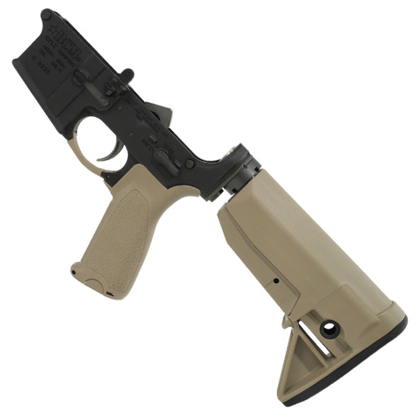BCM® Lower Receiver Group w/ Stock Mod 0 FDE