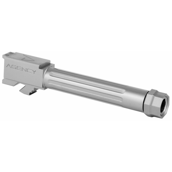 Agency Arms Mid Line Barrel For Glock 19 Gen 5 - Stainless