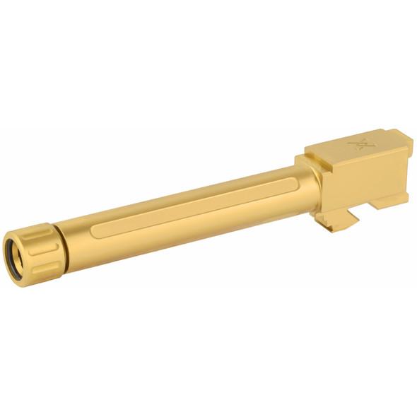 True Precision Threaded Barrel For Glock 17 - Titanium Nitride