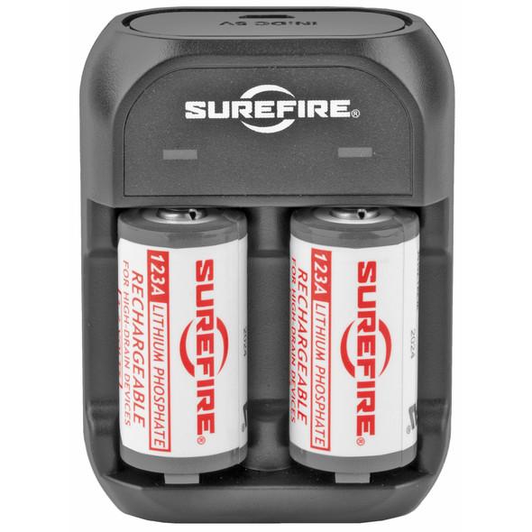 Surefire LFP123 Rechargeable Battery Kit