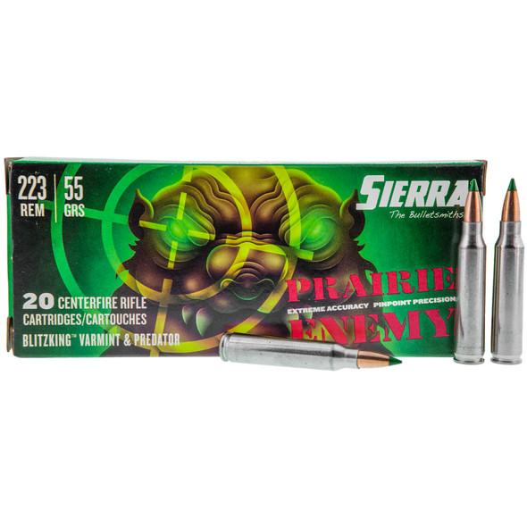 Sierra Prairie Enemy - 223 Rem 55Gr BlitzKing - 20 Rds