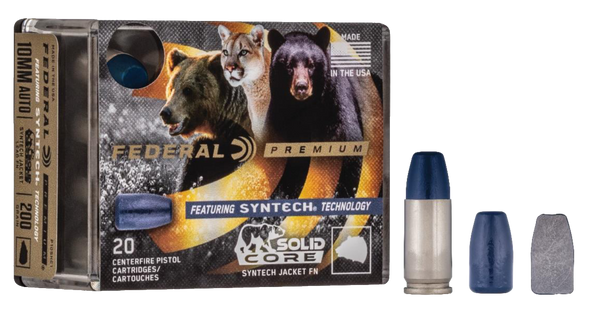Federal Premium - 9mm Luger 147 gr Synthetic Flat Nose - 20 Rds