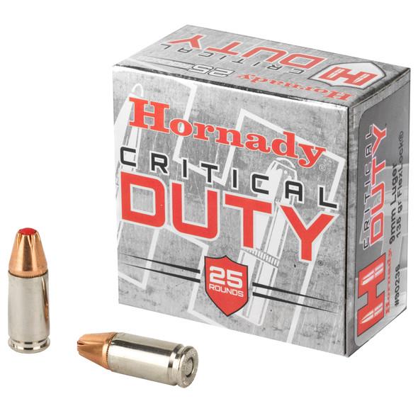 Hornady Critical Duty 9mm 135gr - 25rd Box