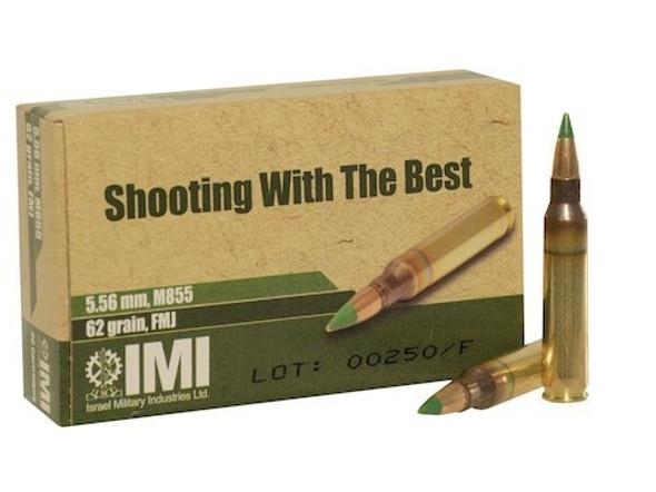 IMI Systems 5.56 M855 62gr FMJ - 30rd box