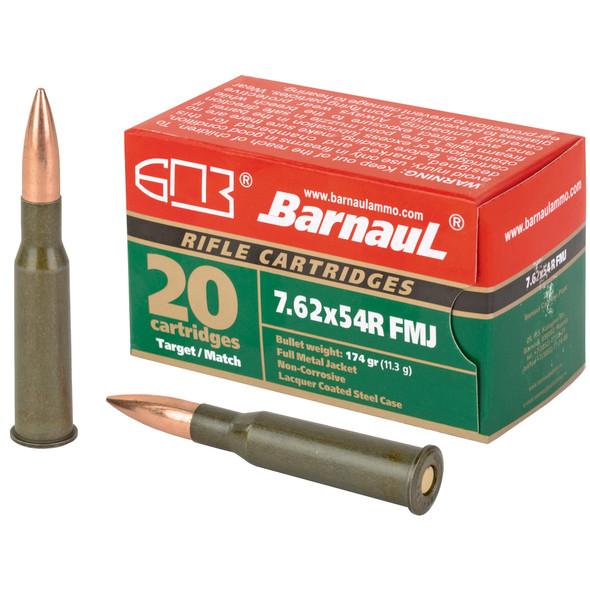 Barnaul Ammunition - 7.62X54R 174Gr FMJ - 20 Rds