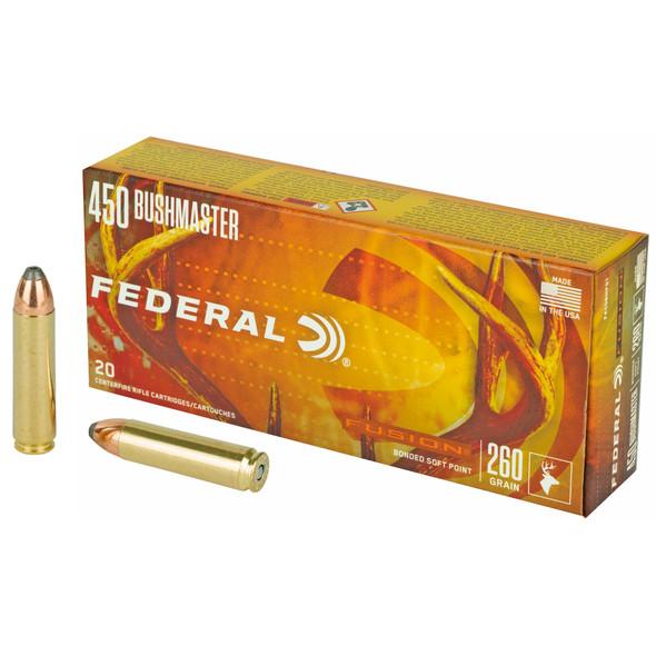 Federal Fusion - 450 Bushmaster 260 Gr. - 20 Rds