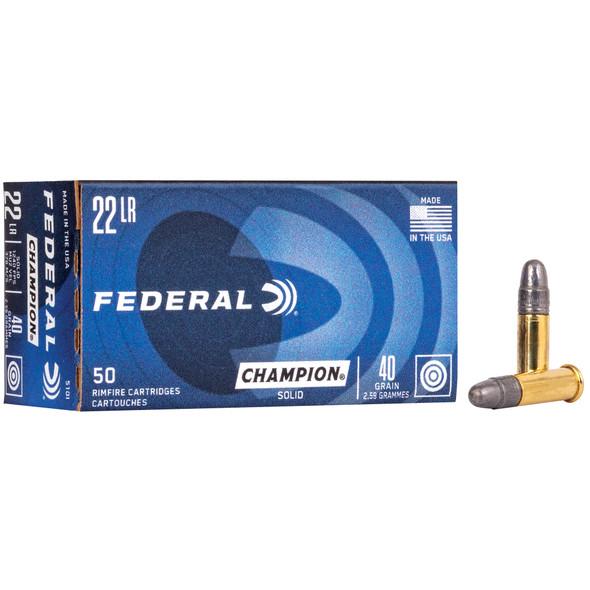 Federal Lightning 22lr 40gr Solid - 50rd Box